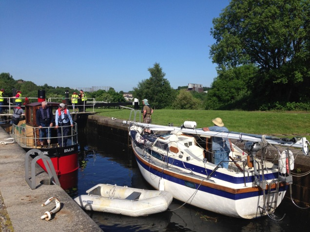 Forth and Clyde Canal at Maryhill Locks