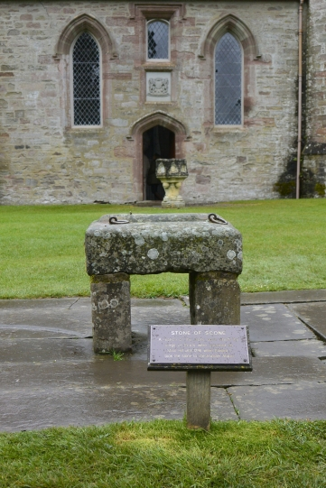 Chapel and Stone of Scone