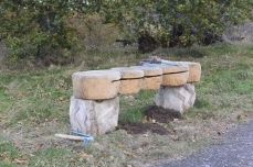 Drum set bench