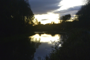 Forth and Clyde Canal at dusk