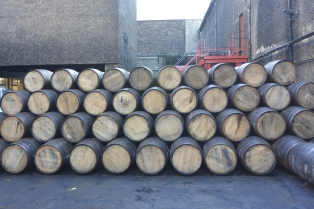 Bourbon casks