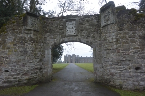 Archway to old Scone
