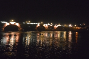 Perth Bridge by night