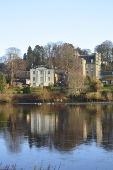 Houses across the Tay