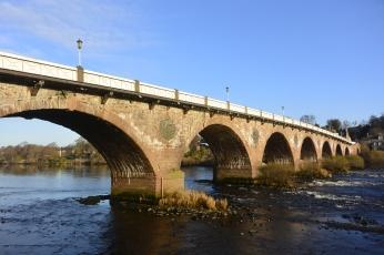Perth Bridge by day