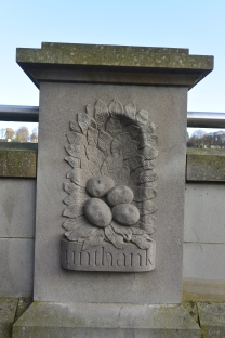 Wall carving by Gillian Forbes