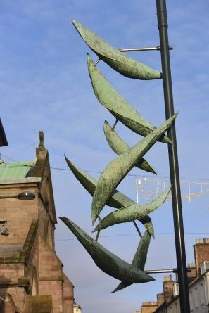 Art works in St John Street by David Wilson