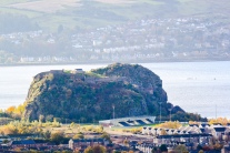 View of Dumbarton Castle