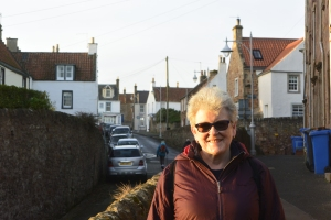 Anabel at Crail