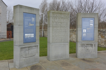 Frances Colliery memorial