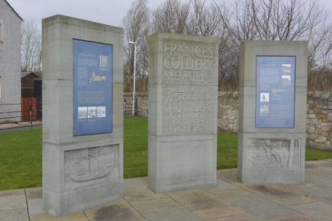 Frances Colliery memorial