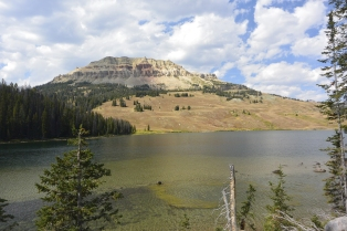 Beartooth Lake and Butte