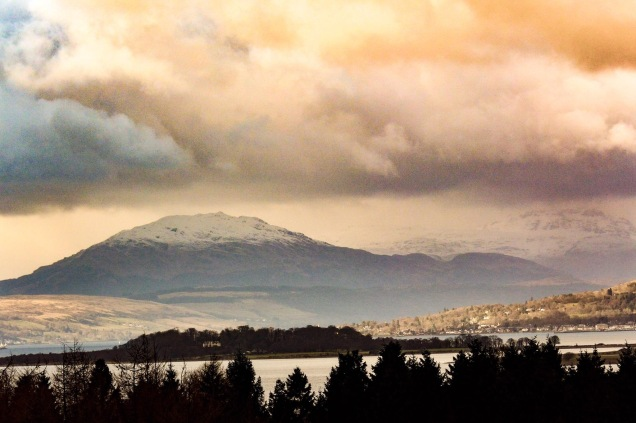 Clyde view from Finlaystone