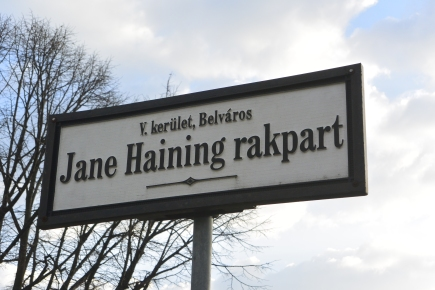 Jane Haining rakpart, Budapest
