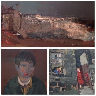 Joan Eardley collage