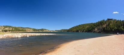Creek and reservoir