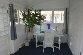 Bluebell Room sunroom