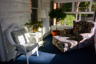 Bluebell Room sunroom