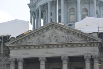 Colorado State Capitol portico