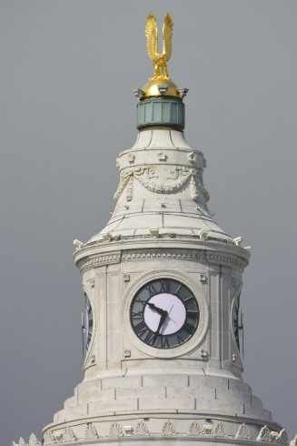 Civic Center clock tower