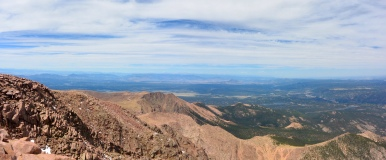 Views from Pikes Peak