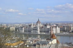 View of parliament from Fisherman's Bastion