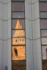 Fisherman's Bastion reflected
