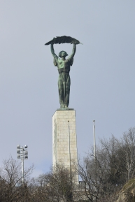 Liberation Monument from Szabadság Bridge