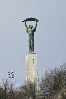 Liberation Monument from Szabadság Bridge