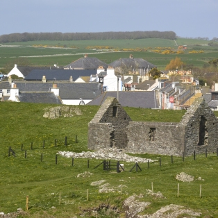 St Ninian's Chapel from Isle Head