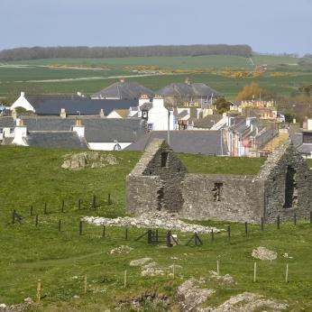 St Ninian's Chapel from Isle Head