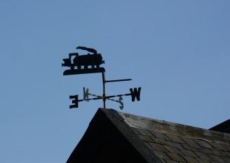 Station House weathervane
