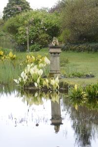 Reflected sculpture