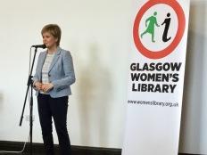 Nicola Sturgeon speaks