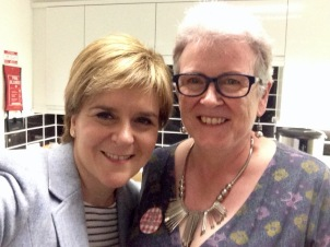 Selfie with First Minister