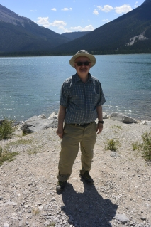 John at Spray Lakes