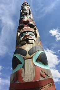 Two Brothers totem pole