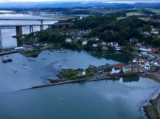 North Queensferry and bridges