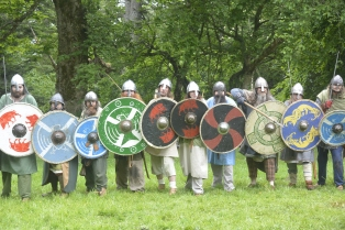 Vikings about to charge