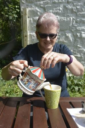 Kerrera tea-garden