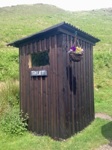Kerrera tea-garden toilet