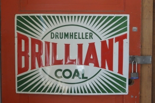 Drumheller Brilliant Coal
