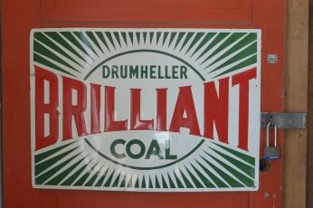 Drumheller Brilliant Coal