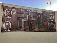Mural in Brooks, AB
