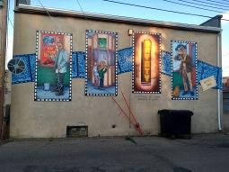 Mural in Brooks, AB