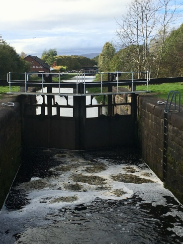 Lock 26, looking towards Lock 27