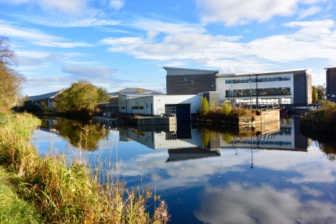 Forth and Clyde Canal at Kirkintilloch