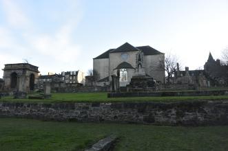 Canongate Kirkyard