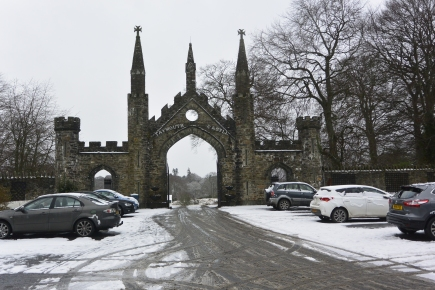 Taymouth Castle gates