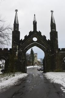 Taymouth Castle gates